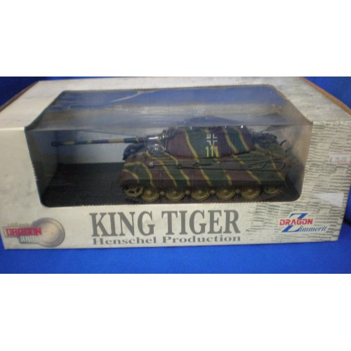 1/35 Dragon King Tiger Henschel Production 61017