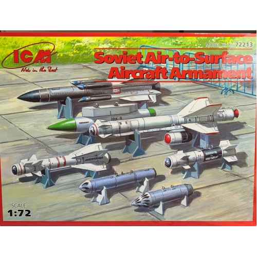 1/72 ICM Soviet air to surface aircraft armament 72213
