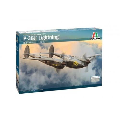 1/72 Italeri P-38J Lightning 1446