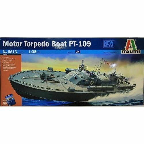 1/35 Italeri Mtb Pt-109 Torpedoboot 5613