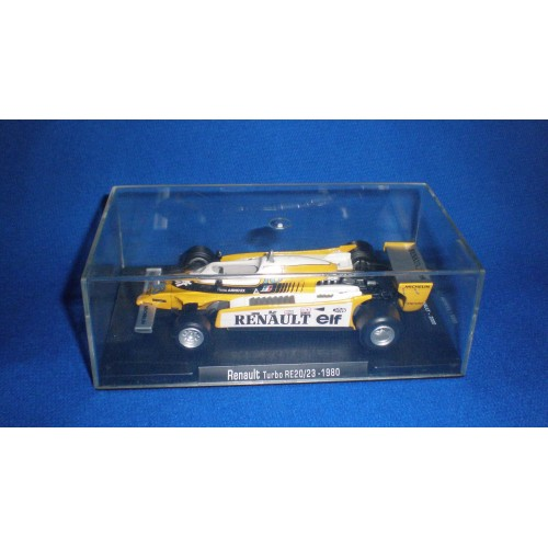 1/43 Deagostini Renault Turbo RE20/23 1980 Rene Arnoux