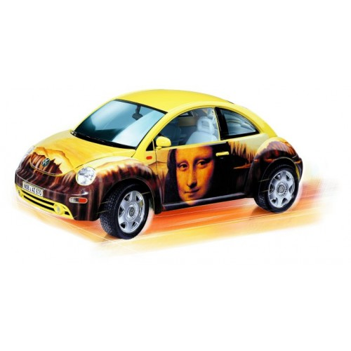 1/18 Burago VW New Beetle Gioconda Beetlemania 70221