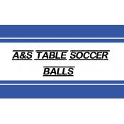 A&S Table Soccer Handmade balls (257)