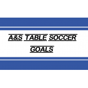 A&S Table Soccer professional Goals (11)