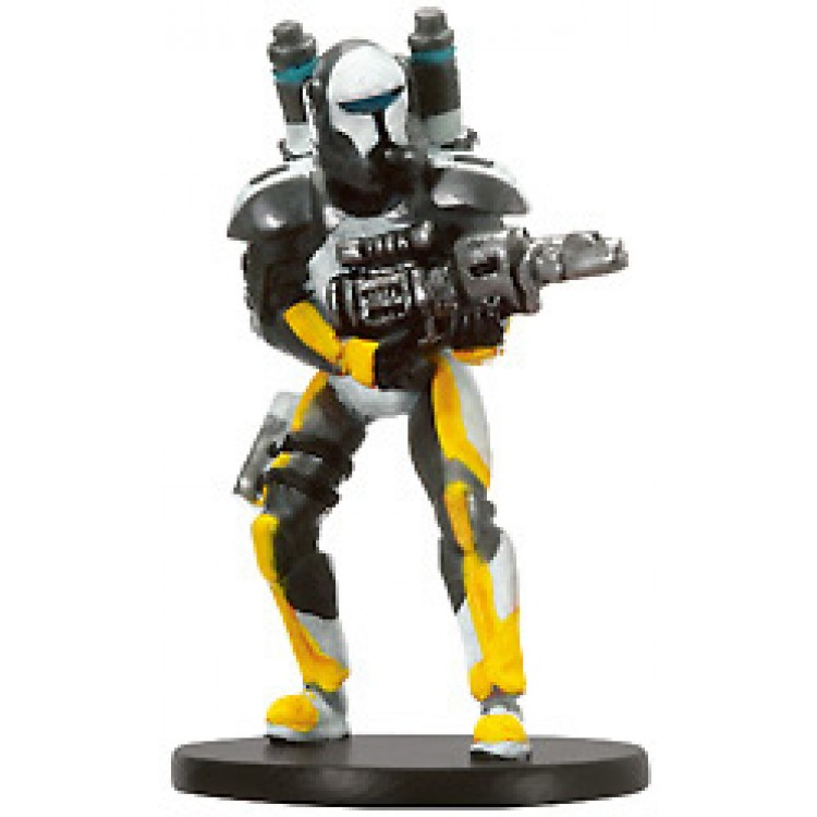 Star Wars Miniatures Champions Of The Force Republic Commando abrasar #35