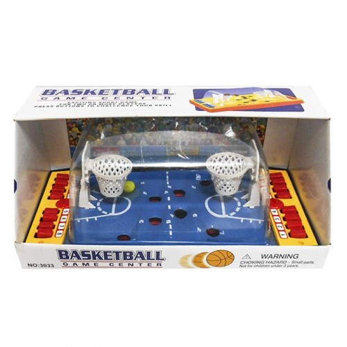 Basketballl toy with buttoms 31x13x16cm 911194