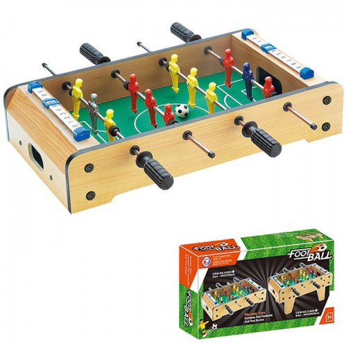 Wooden Football game 45x24x8cm 891683