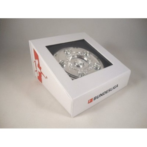 THE GERMAN BUNDESLIGA TROPHY. 70mm in Diameter Includes a Display Box. Official Licensed Replica Trophy.