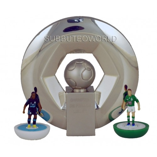 FRENCH LIGUE 1 TROPHY. 70mm High With Box. Official Licensed Replica Trophy.
