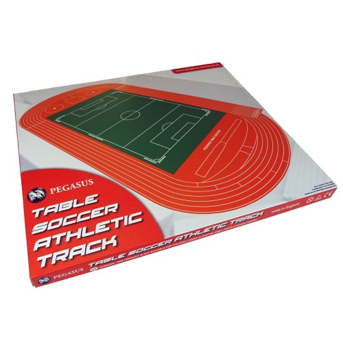 THE PEGASUS ATHLETIC TRACK. A Superb Addition To Your Stadium.
