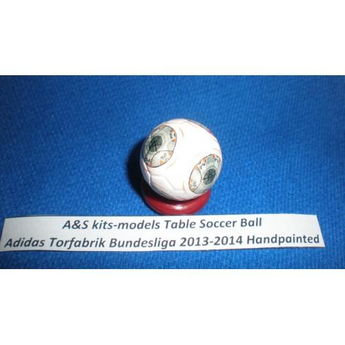 A&S kits-models Table Soccer Ball Adidas Torfabrik Bundesliga 2013-2014