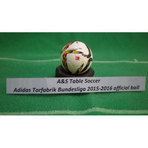 A&S Table Soccer Adidas Torfabrik Hermes Bundesliga official ball 2015-2016