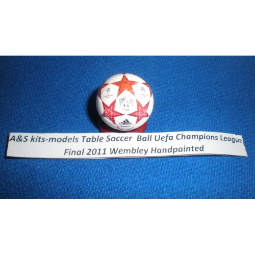 A&S kits models Table Soccer Ball Uefa Champions League 2011 Final Wembley