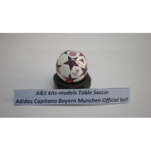 A&S Table Soccer Adidas Capitano Bayern Munich official ball
