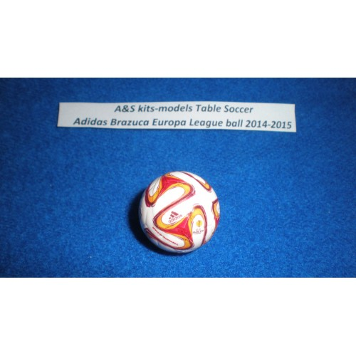 A&S Table Soccer Adidas Brazuca Uefa Europa League 2014-2015 Official ball