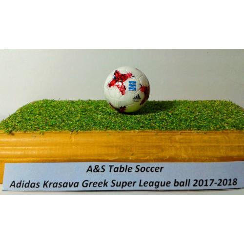 A&S Table Soccer adidas Krasava Greek Superleague ball 2017-2018