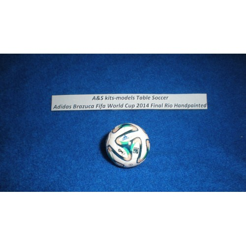 A&S Table Soccer Adidas Brazuca Fifa World Cup 2014 Final Rio Handpainted