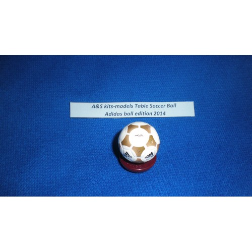 A&S kits-models Table Soccer Adidas ball edition 2013-2014 Handpainted