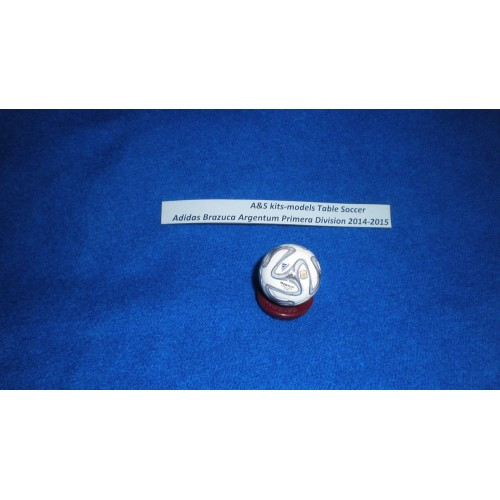 A&S Table Soccer Ball Adidas Brazuca Argentum Copa Argentina 2014-2015