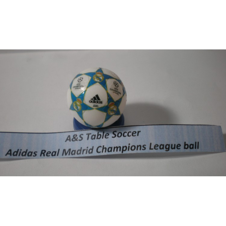 A&S Table Soccer Adidas Uefa Champions League Ball Real Madrid
