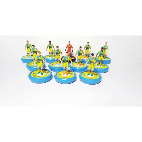 Subbuteo Andrew Table Soccer APOEL Nicosia  2019-20 on new Aeolus II Professional bases
