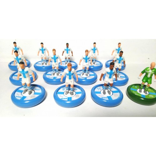 Subbuteo Andrew Table Soccer Olympique De Marseille 120 years edition kit ans on Aeolus Pro Bases