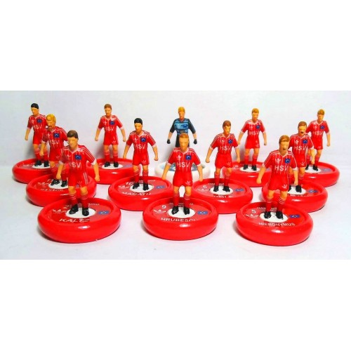 Subbuteo Andrew Table Soccer Hamburg 1982-83 Champion Cup Winners on WSB Professional bases