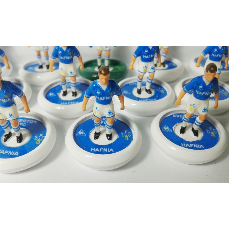 Subbuteo a s table soccer everton 1984 85 with hermes pro for League two table 1984 85