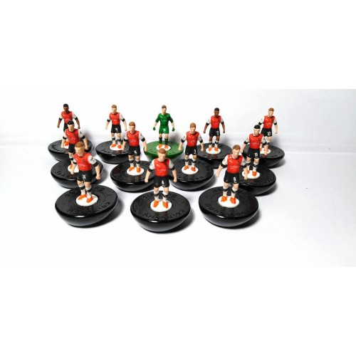 Subbuteo Andrew Table Soccer LutonTown 2019-20 on Classic Hasbro bases