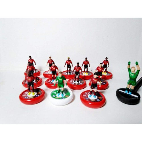 Subbuteo Andrew Table Soccer Manchester United 2018-19 on Zeus Pro Bases