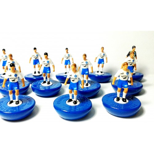 Subbuteo Andrew Table Soccer Ethnikos Piraeus 1984-1985 on Classic Hasbro Bases