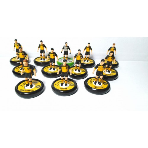 Subbuteo Andrew Table Soccer Ilisiakos FC on new Aeolus II Professional bases