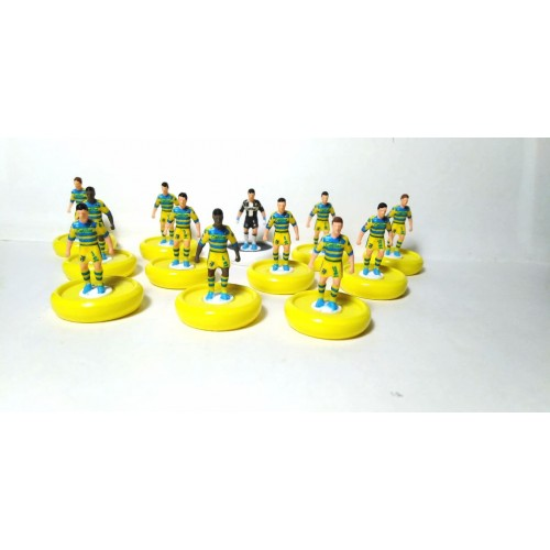 Subbuteo Andrew Table Soccer Parma 2018-19 on Zeus Pro Bases