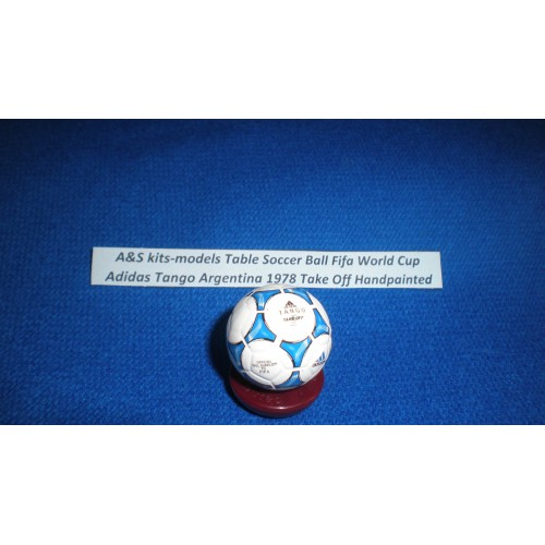A&S kits-models Table Ball Tango Argentina Take Off 1978 Handpainted