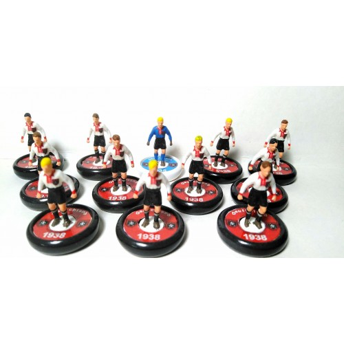 Subbuteo Andrew Table Soccer Germany World Cup Team 1938 on Aeolus Pro Bases