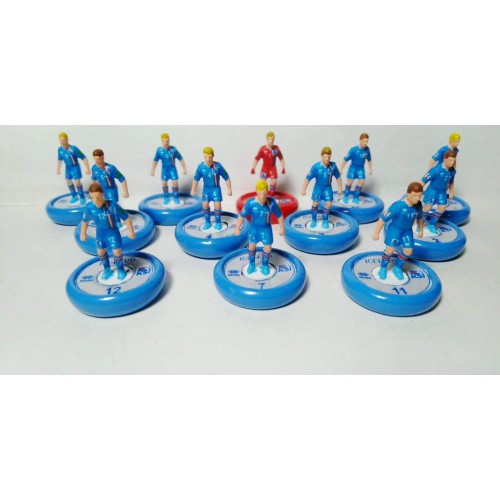 Subbuteo Andrew Table Soccer Iceland 2018 World Cup Team on Aeolus Pro Bases