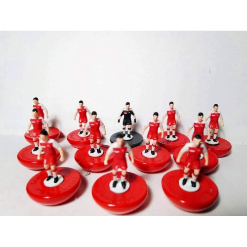 Subbuteo Andrew Table Soccer Singapore 1985 on Hasbro Classic bases