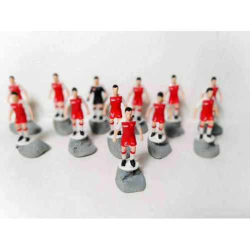 Subbuteo Andrew Table Soccer Singapore 1985 no bases only 12 figures