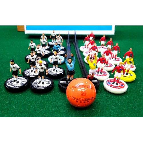 Subbuteo Andrew Tables Soccer Set West Germany England World Cup Final 1966 on WSB Professional Bases
