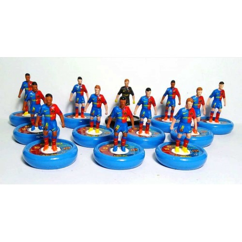 Subbuteo Andrew Table Soccer FC Barcelona 2008-2009 Champions League Winners on WSB Professional bases