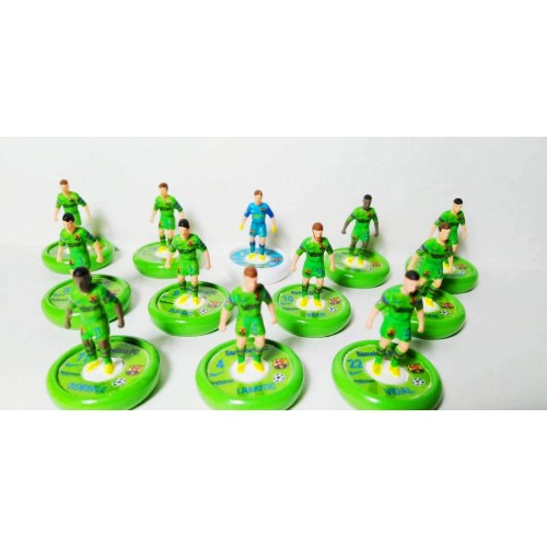 Subbuteo Andrew Table Soccer Barcelona 2nd kits 2018-19 on Aeolus Pro Bases