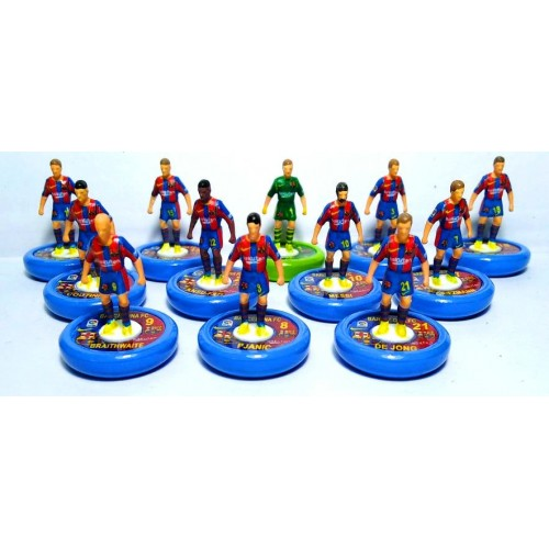 Subbuteo Andrew Table Soccer Barcelona 2020-21 on WSB Professional bases