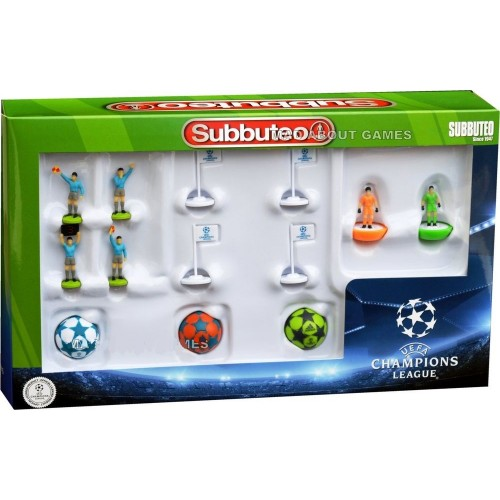 Subbuteo CHAMPIONS LEAGUE REFEREES ADIDAS BALLS FLAGS Football